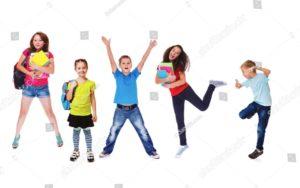勉強に未来を感じる子供達
